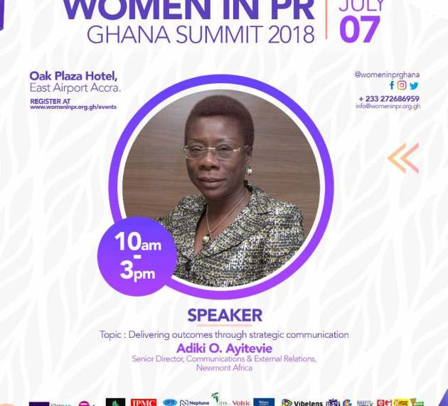 Adiki O. Ayitevie: Speaker at Women in PR Ghana Summit 2018
