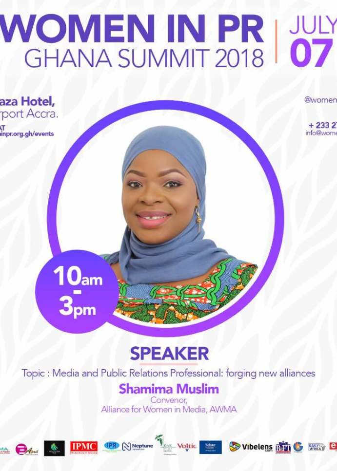 Shamima Muslim: Speaker at Women in PR Ghana Summit 2018