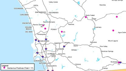 Hantavirus on the rise in San Diego County - Daily Press
