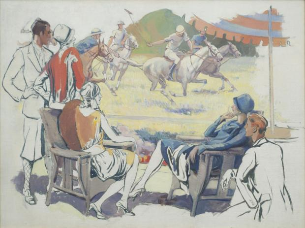 Alexander O. Levy (1881-1947), Untitled, c. 1928; oil on canvas, 30 x 40 inches, framed; Bequest of Frank Szuba, 2002