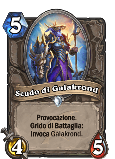 discesa scudo galakrond