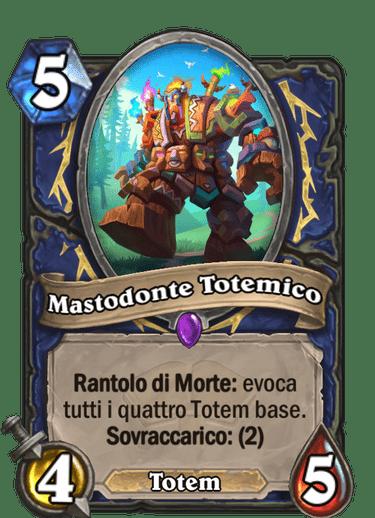 mastodonte totemico scholomance
