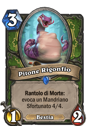 scholomance pitone rigonfio