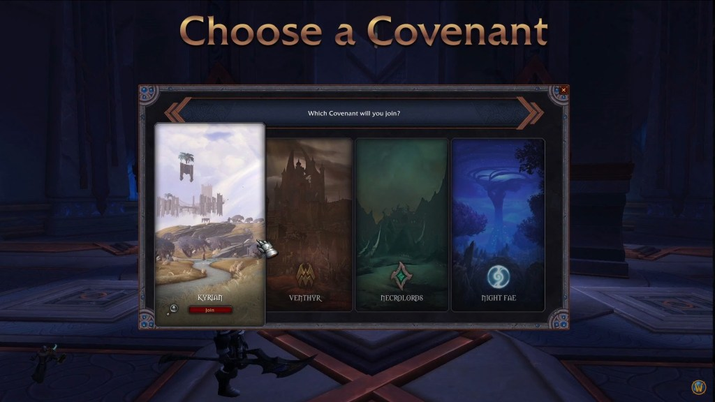 shadowlands covenant congreghe