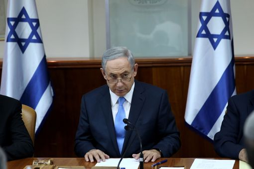 Benjamin Netanyahu opens weekly cabinet meeting moments after he was informed about attack