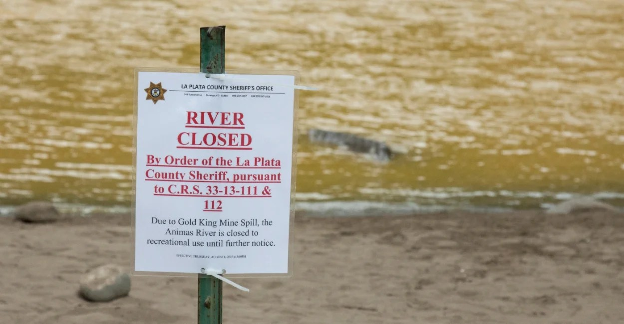 After EPA Spills Waste in Colorado River Residents Speak Out