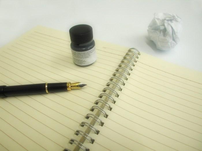 write notebook