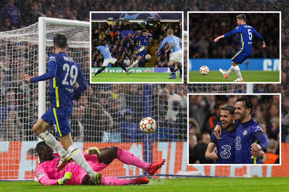 Chelsea 4 Malmo 0: Jorginho scores two penalties as Blues forwards Lukaku and Werner hobble off with injuries