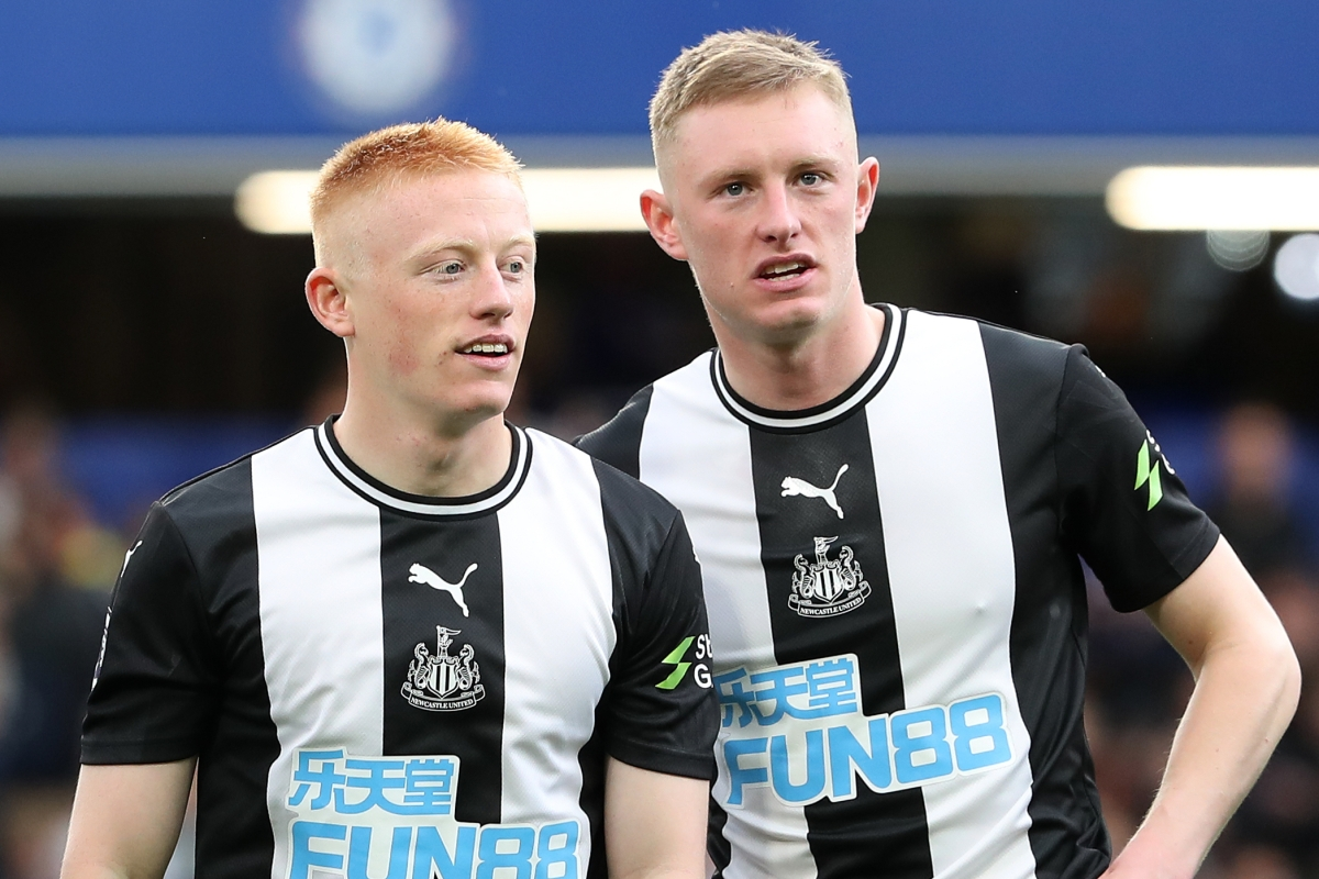 Newcastle star Sean Longstaff broke down in tears in chat with brother Matty and his dad after hitting 'rock bottom'