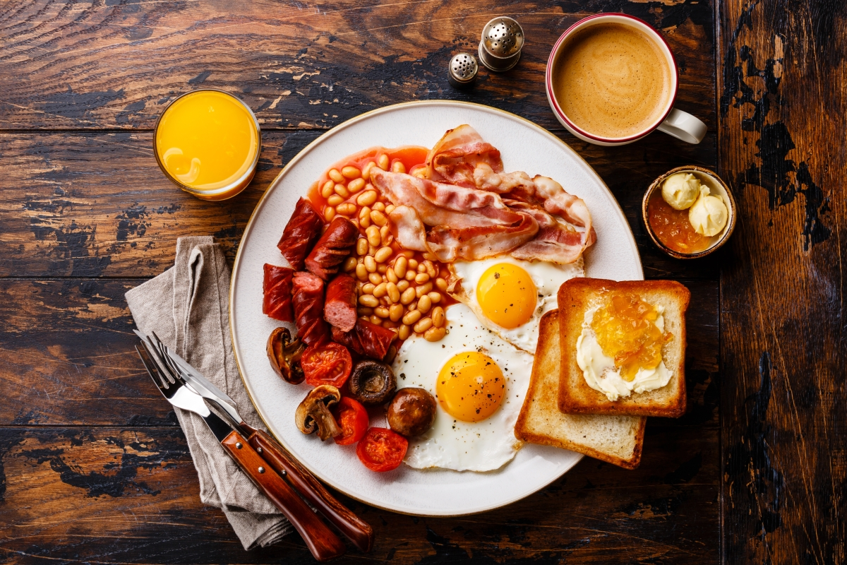 Perfect Sunday morning is waking up at 8.48am, a full English breakfast and the smell of fresh coffee, survey reveals