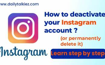 How to deactivate Instagram account latest trick 2021
