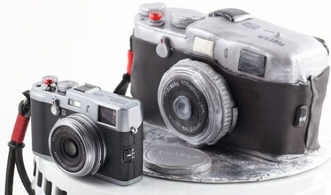 Kue Ultah Bentuk Kamera