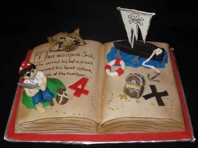 Kue Bentuk Buku