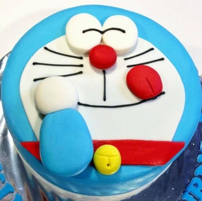 Kue Wajah Doraemon