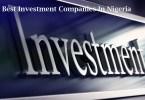 Best Investment Companies In Nigeria