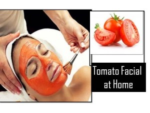 Best Tomato Facial at Home to Get Fair Spotless GLOWING SKIN