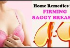 Home Remedies For Sagging Breast