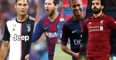 Top 10 Highest paid footballers 2021