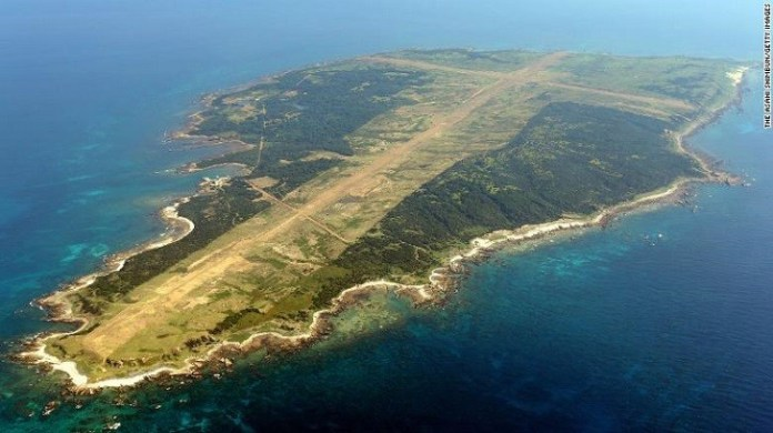 A japanese island could be the US strategical aircraft carrier