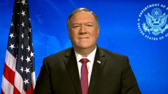 Pompeo claims 'enormous evidence' virus came from Chinese lab