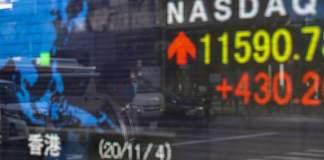 Global stock markets climb on prospect of Biden presidency