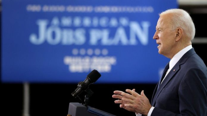 Biden unveils 'once in a generation' spending plan