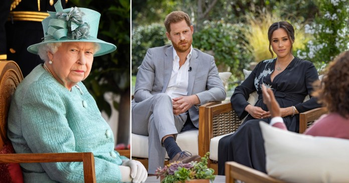 questions had been asked about their son's skin colour. The race issues revealed by Meghan shocked the world.