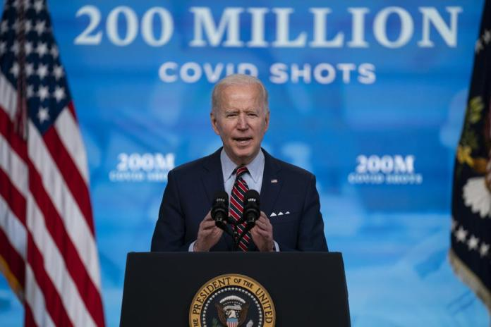 In fight against coronavirus, Biden looks for path back to normal