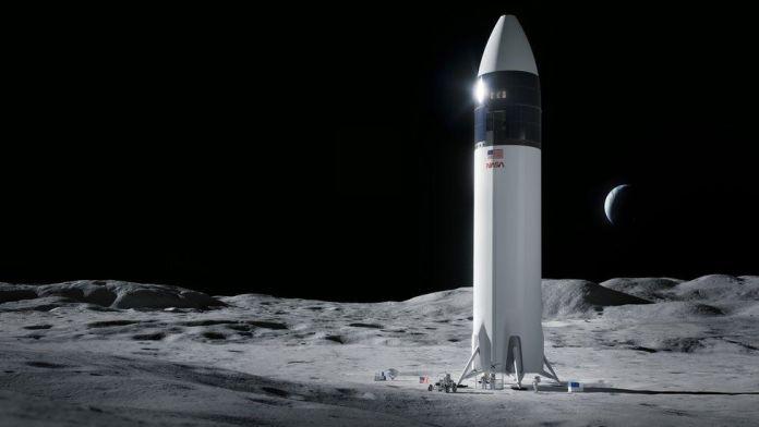 Nasa chooses SpaceX to build Moon lander