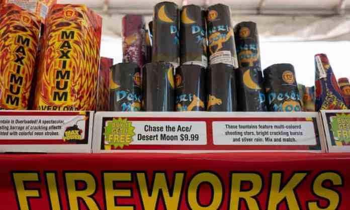 Cities across US west ban Fourth of July fireworks amid wildfire fears