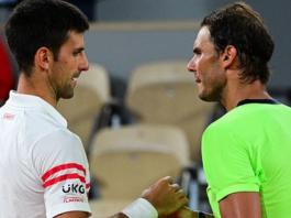 Novak Djokovic beats Rafael Nadal & faces Stefanos Tsitsipas in final