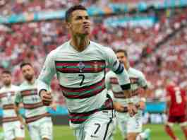 Ronaldo makes history in Portugal win