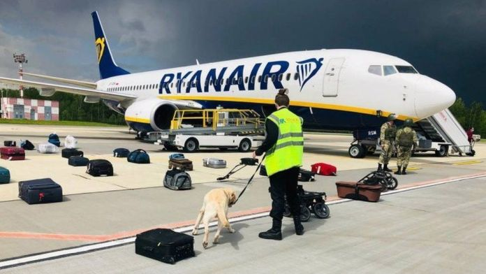 Ryanair boss says pilot had no choice but to land in Minsk