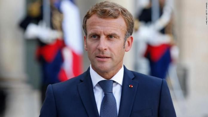 ISIS chief is killed by French forces, Macron says