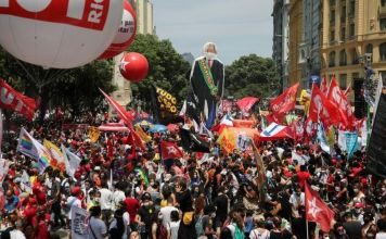 Thousands protest calling for president's removal
