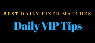 Daily VIP Tips