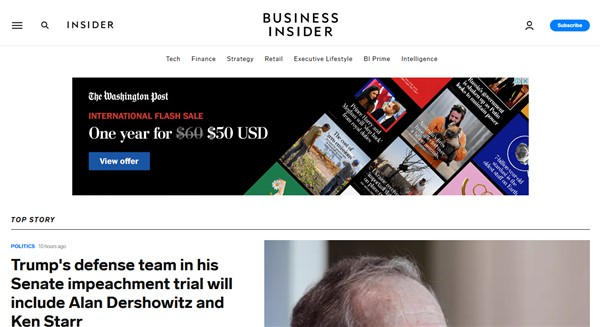 Best tech blogs - Business Insider