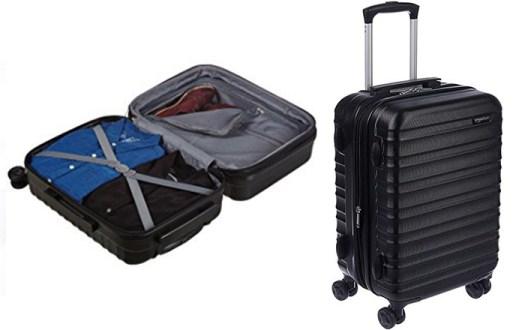 Amazon basics hardside spinner Best Luggage for International Travel