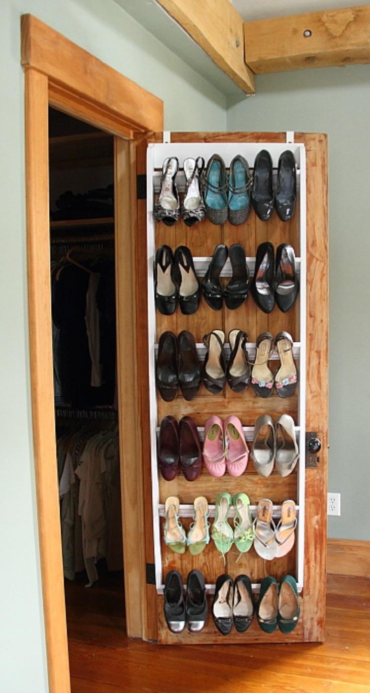 7 DIY Shoe Storage
