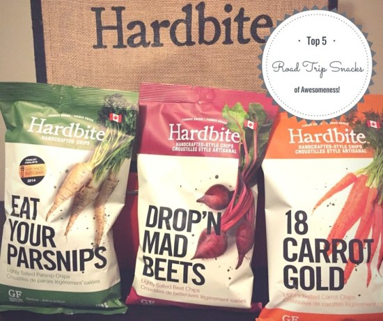 Hardbite chips are the top road trip snack of awesomeness