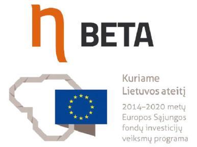 logo beta - Dainavos žodis