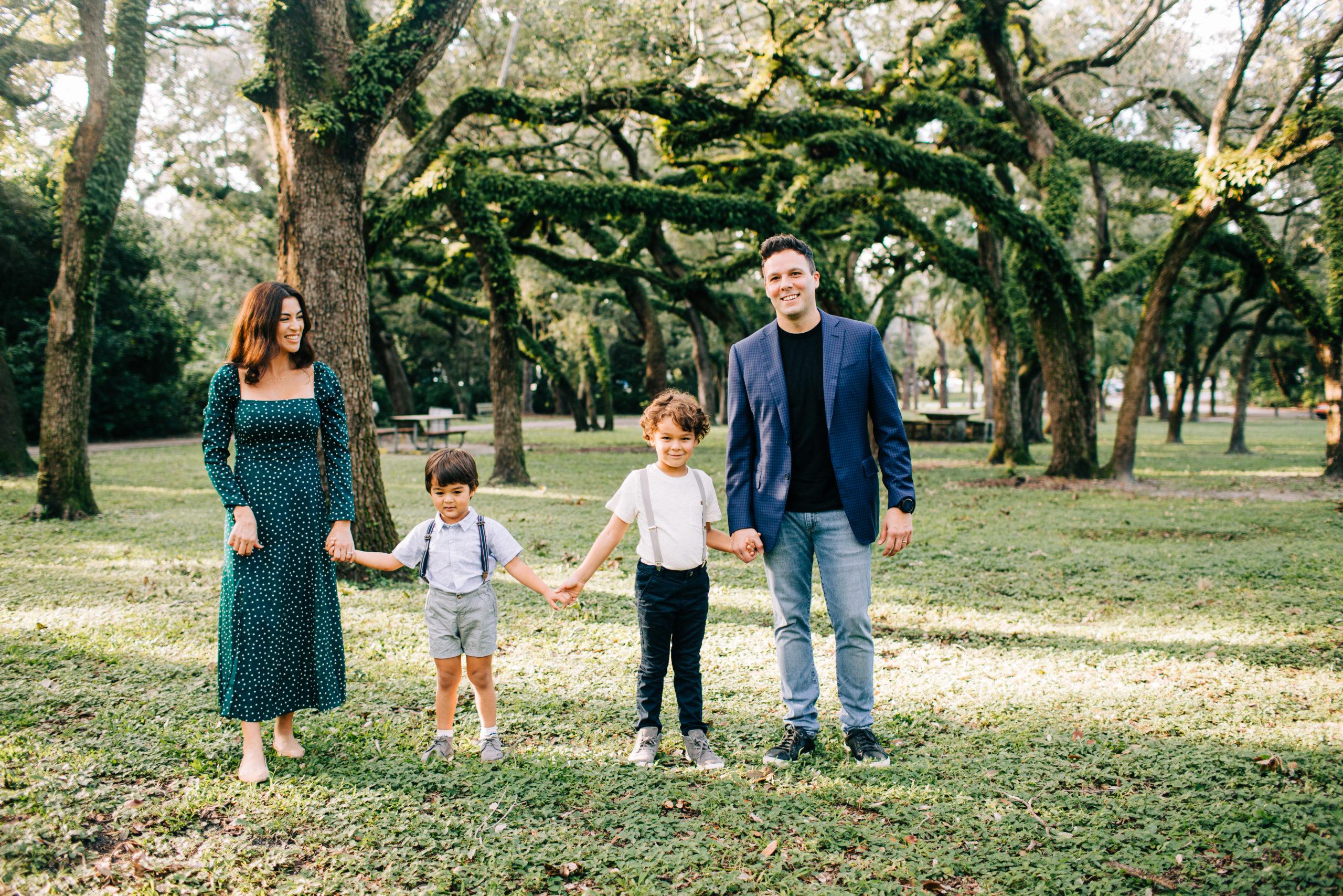 MiamiFamilyPhotoSession-scaled Family Photo Session at the Park - Villa Family