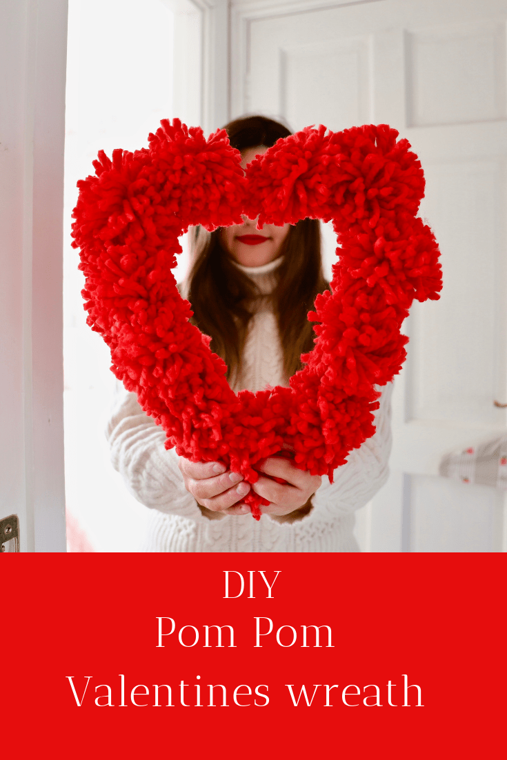 Pom Pom wreath DIY