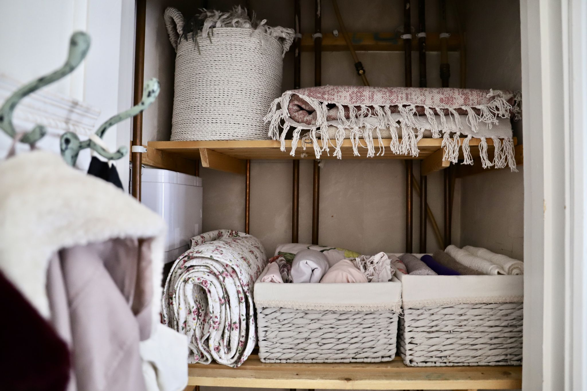 Declutter and organize my home with me