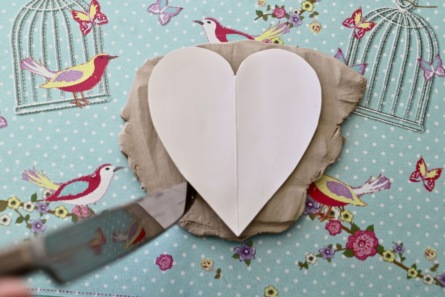 Valentines diy, love heart trinket dishes