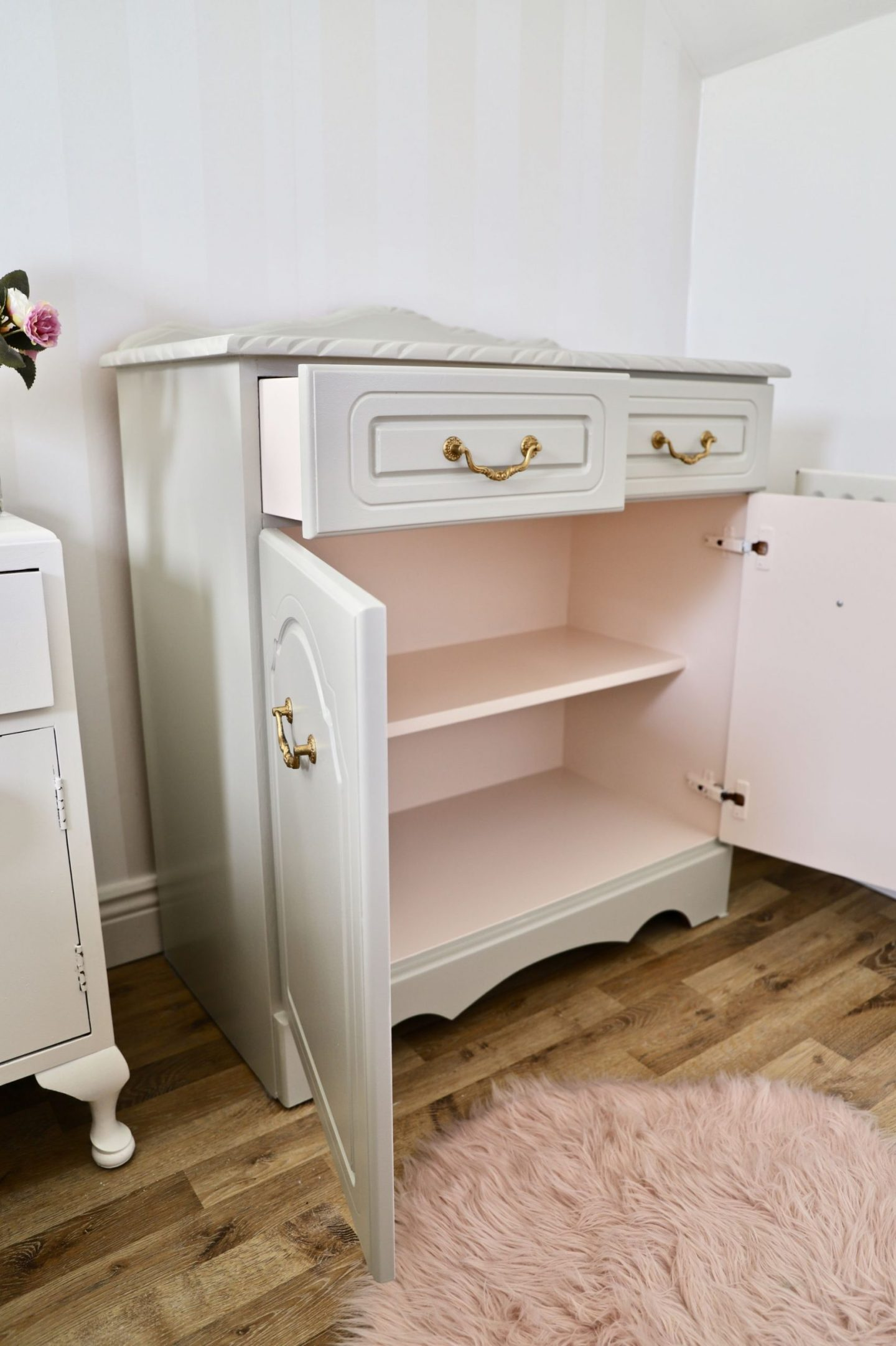DIY Furniture makeover, Cottage style cabinet.