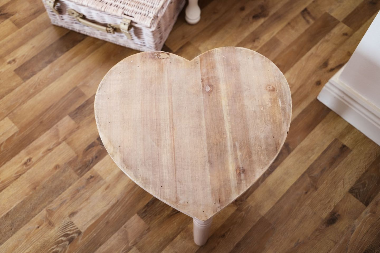 DIY Love Heart Stool