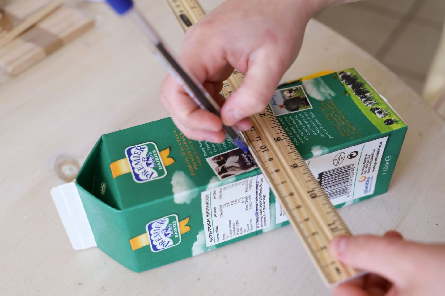 How to recycle milk cartons