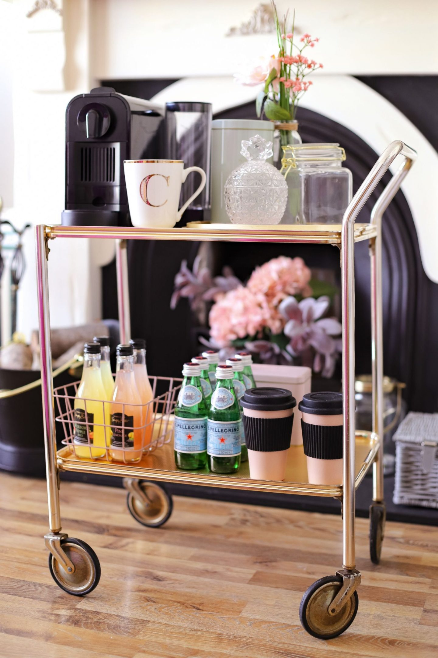DIY Coffee Cart