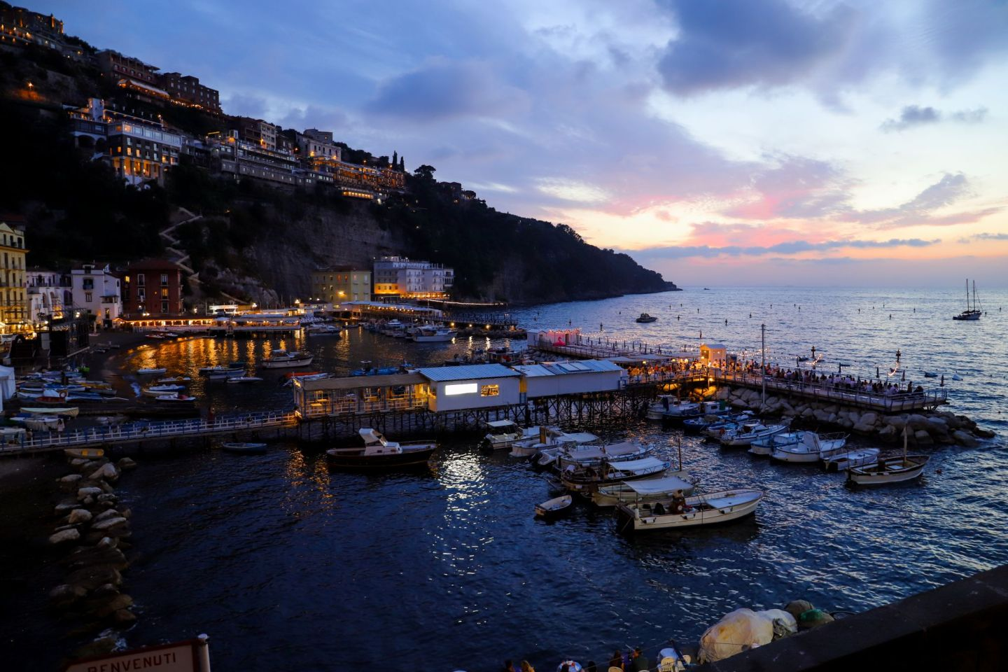 Sunset in Sorrento image